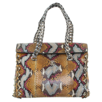Roberto Cavalli Snake leather handbag