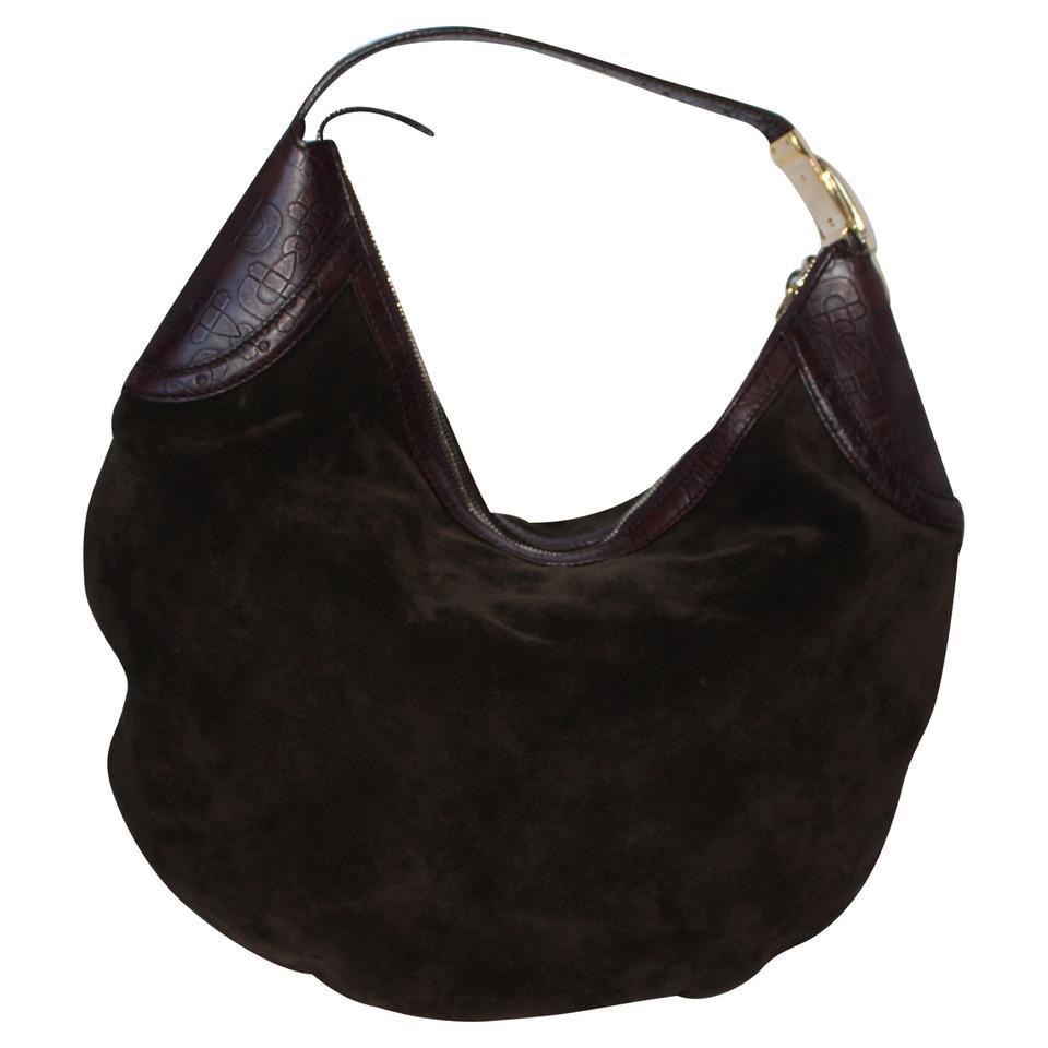 gucci sac en cuir et en daim acheter gucci sac en cuir et en daim second hand d 39 occasion pour. Black Bedroom Furniture Sets. Home Design Ideas