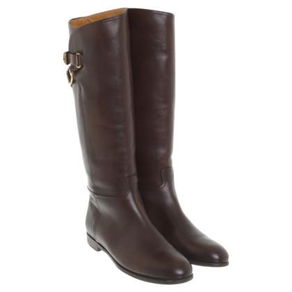 Ralph Lauren Boots in donkerbruin