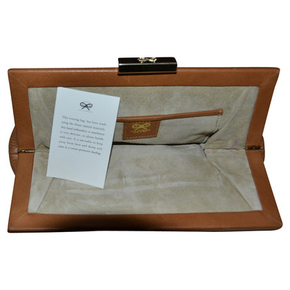 Anya Hindmarch Leer clutch