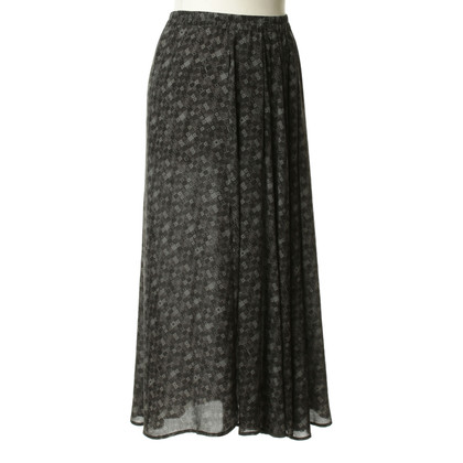 Humanoid MIDI length silk skirt