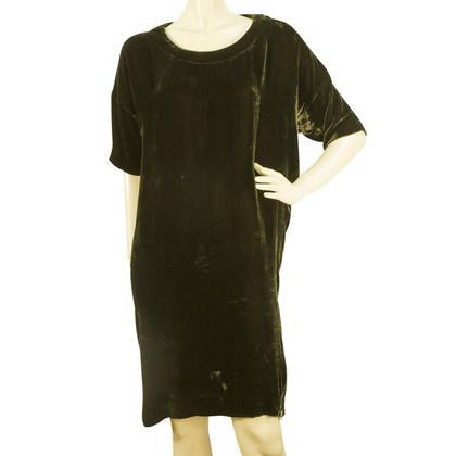 Isabel Marant Etoile Velvet dress in khaki