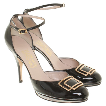 Salvatore Ferragamo pumps patent leather