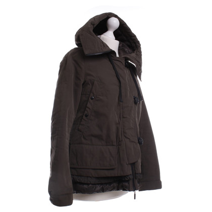 Moncler Jacket with hood in khaki