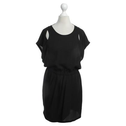 Iro Getailleerde jurk in zwart