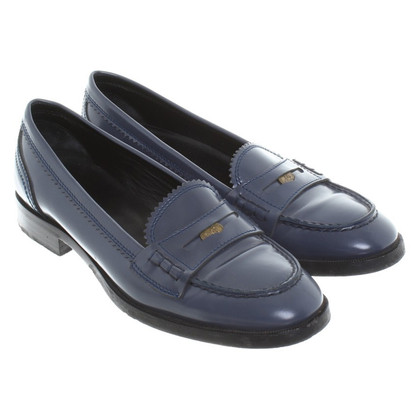 Bottega Veneta Mocassino in fumo blu
