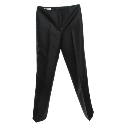 Jil Sander Smoking pants in black