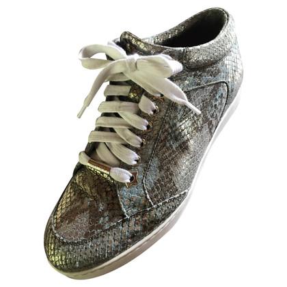 Jimmy Choo Sneakers in Reptil-Optik