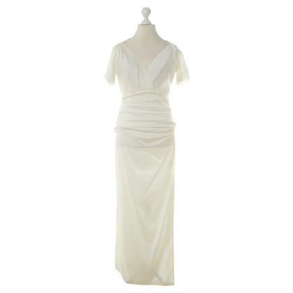 Talbot Runhof Two-piece evening dress in cream
