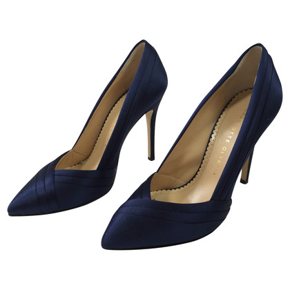 Charlotte Olympia pumps in blue