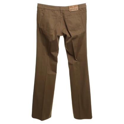 Gucci Okerkleurige broeken