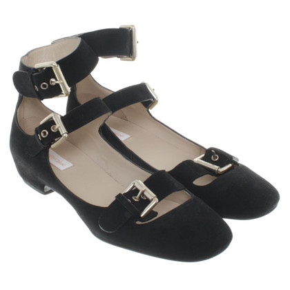 See by Chloé Strappy ballerinas in black