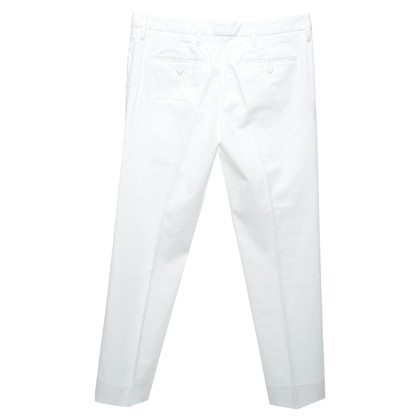 Prada Cotton trousers in white