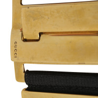 Gucci Waist belt with gold-colored buckle