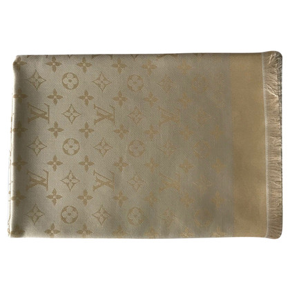 Louis Vuitton Monogram Shining cloth in gold / gold