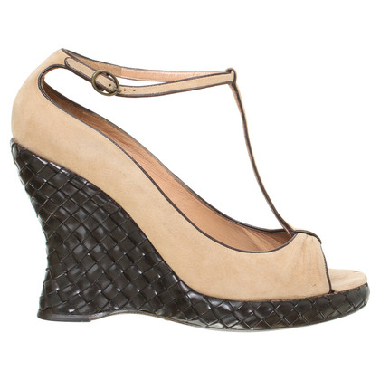 Bottega Veneta Wedges met geweven hiel