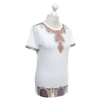 Etro T-Shirt mit Muster