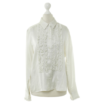 Rena Lange Silk blouse with Ruffles