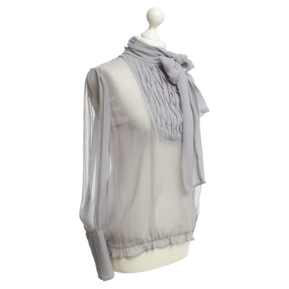 By Malene Birger Lilac button blouse