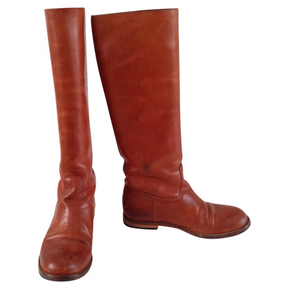 Shabbies Amsterdam Leather boots