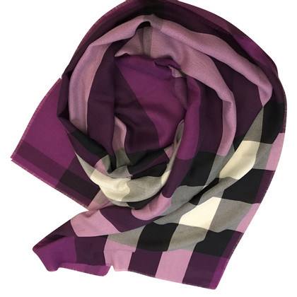 Burberry Prorsum Burberry purple stole