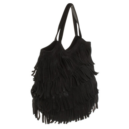 Other Designer Laura - handbag with fringes