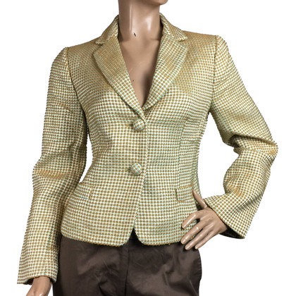 J. Crew Blazer with gold shimmer