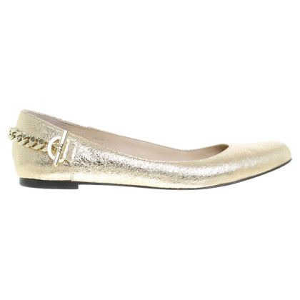 Rachel Zoe Ballerinas in Gold