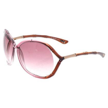 Tom Ford Rosékleurige zonnebril