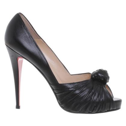 Christian Louboutin Elegante peep-dita dei piedi
