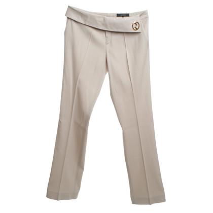 Gucci Pantaloni con applicazione logo
