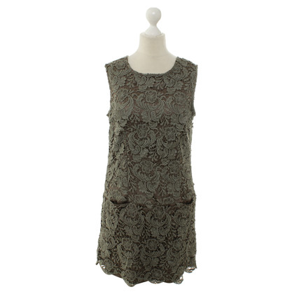 Ermanno Scervino Lace dress in Taupe