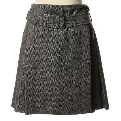 Burberry Wool skirt in grey