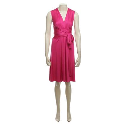 Issa zijden jurk roze