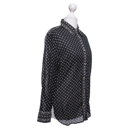 Isabel Marant Etoile Hemdbluse in zwart / Beige