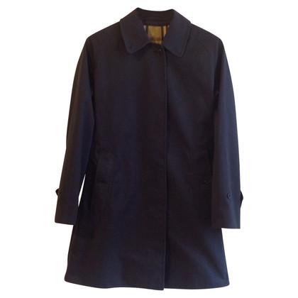 Burberry Manteau en bleu foncé