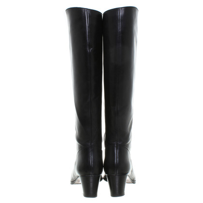 Other Designer Black leather boots