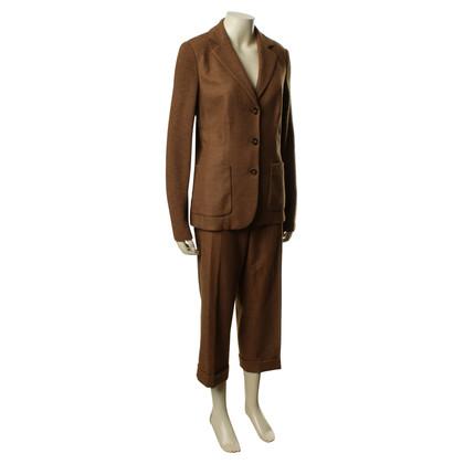 Rena Lange Tailleur pantalone con articoli a maglia
