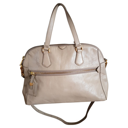 Marc by Marc Jacobs Borsa in pelle color tortora