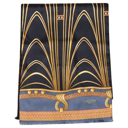 Lanvin Silk/cashmere scarf