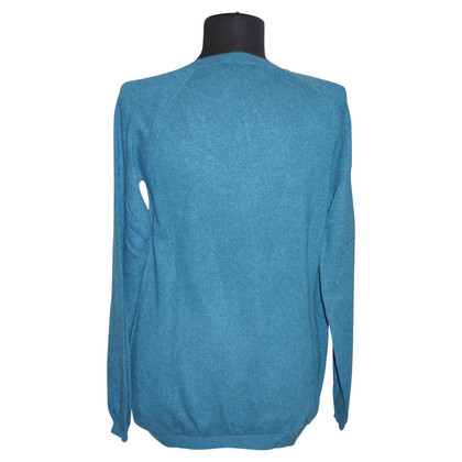 FTC Cashmere pullover in teal
