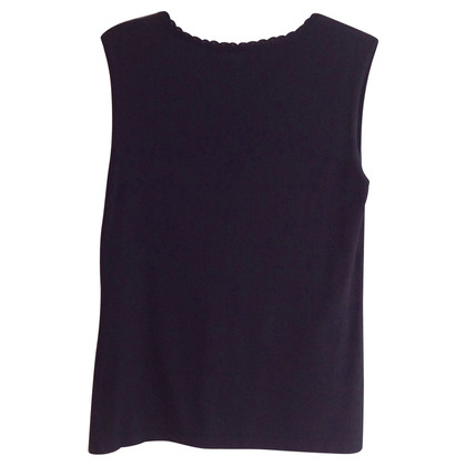 Laurèl Knit top with lacing