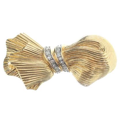 Nina Ricci Golden brooch