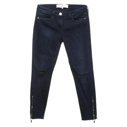 Elisabetta Franchi Jeans in dark blue