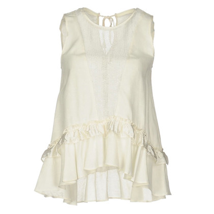 Pinko top with frills
