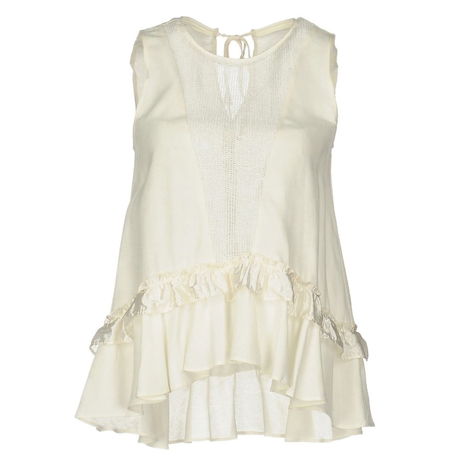 Pinko Top con ruches