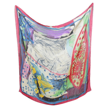Christian Lacroix Colorful silk cloth