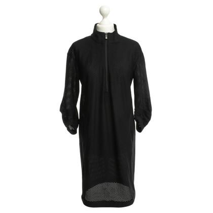 Riani Strukturiertes Kleid in Schwarz