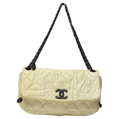 Chanel With skyline quilted flap bag