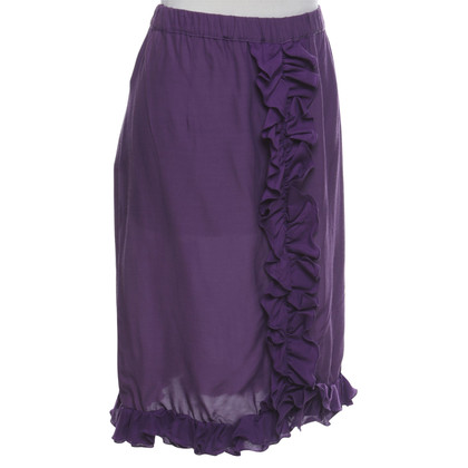 Marni skirt in violet